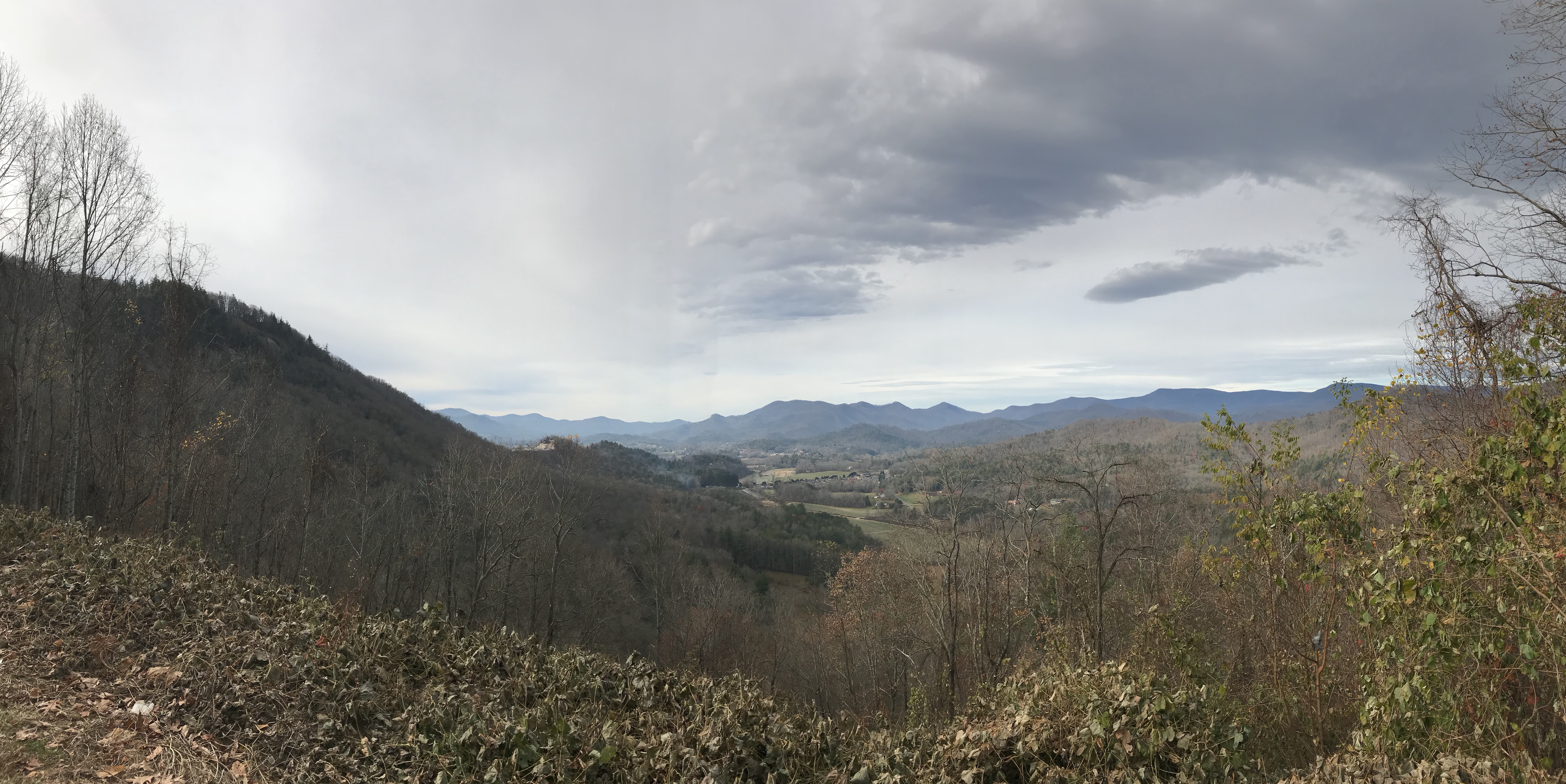 Photo at lookout in Sky Valley, Georgia